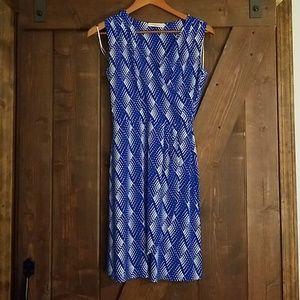 Arun Faux Wrap Knit Dress